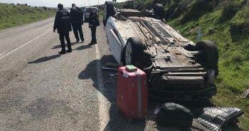 Şırnak'ta trafik kazası: 1'i bebek 5 yaralı