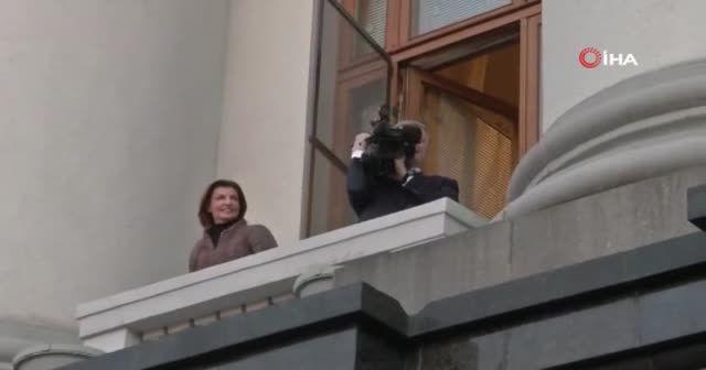 Ukrayna'da seçimi kaybeden Poroşenko'dan veda konuşması