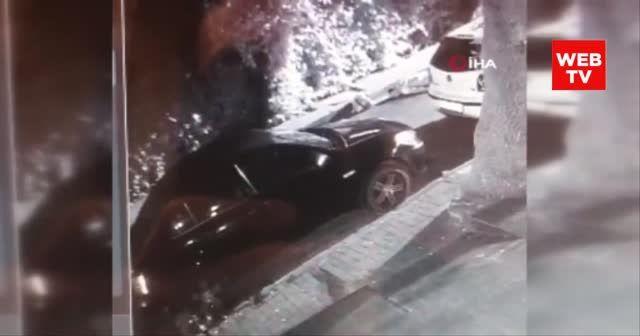 İstanbul'da cinayet anı kamerada
