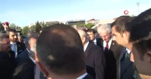 Bahçeli'yi MHP'liler Çamlıca gişelerinde karşıladı