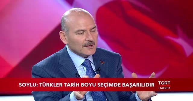 Bakan Soylu: Oyları çalan sandık başkanları