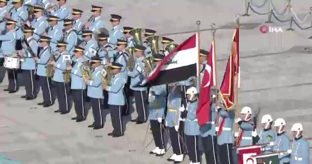 Irak Başbakanı Abdulmehdi resmi tören ile karşılandı