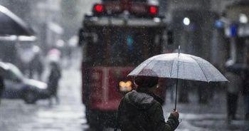 İstanbul'da sağanak yağış süprizi