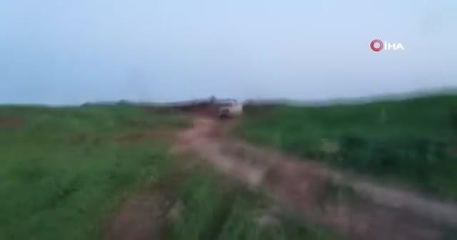 ÖSO'nun PKK/PYD operasyonundan yeni görüntüler
