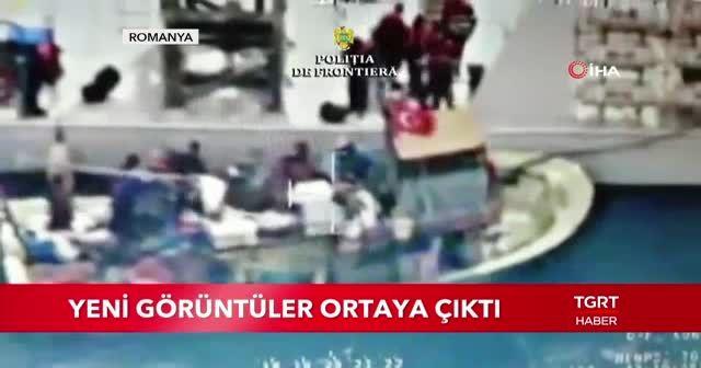 Türk teknesine ateş anı kamerada