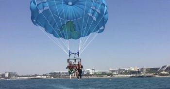 Antalya'da feci ölüm! 50 metre yükseklikten denize düşt