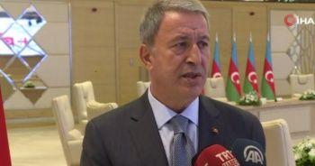 Milli Savunma Bakanı Akar'dan ABD'nin S-400 mektubuna tepki