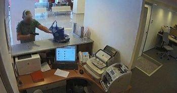 Bayrampaşa'da soygun girişimi kamerada