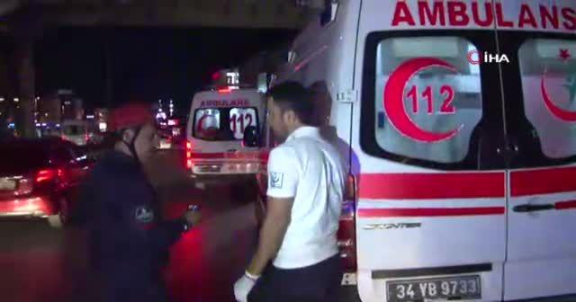 Sefaköy Beşyol'da trafik kazası meydana geldi