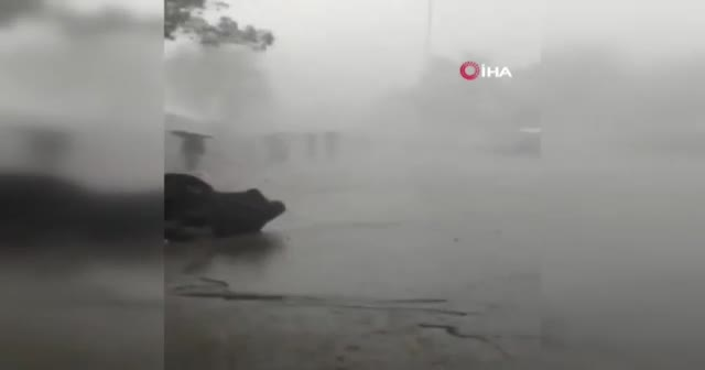Arafat'a yağmur bereketi