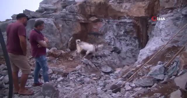 Antalya'da saatler süren kurtarma operasyonu