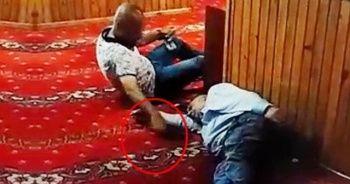 Camide uzanma numarası yaptı, uyuyan şahsın telefonunu çaldı