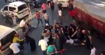 Fatih'te park yeri kavgası kamerada