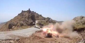 Pençe-3'le PKK'ya ait hedefler vuruluyor