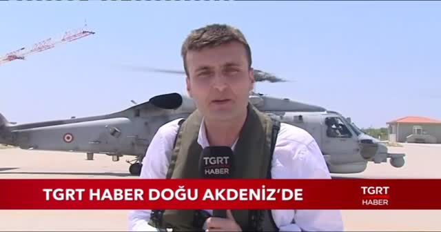 TGRT Haber Doğu Akdeniz'de
