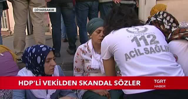 HDP'li vekilden skandal sözler
