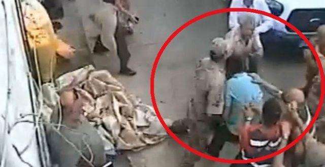 İcra memuruna saldırının görüntüsü ortaya çıktı