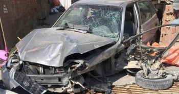 Ankara'da kaza anı güvenlik kamerasında