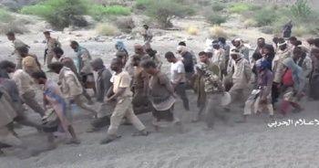 Husiler, esir aldıkları koalisyon askerlerinin görüntülerini yayınladı