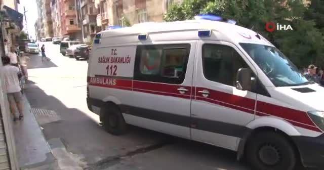 Maltepe'de silahlı saldırı anı kamerada