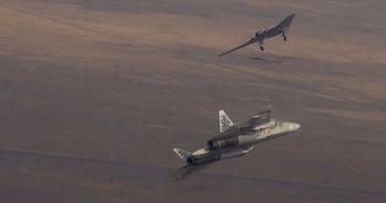 Rus SİHA'sı ile SU-57 ilk kez ortak uçuş gerçekleştirdi