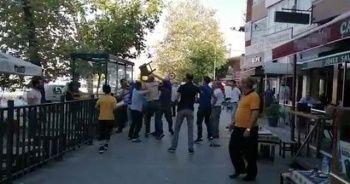 Sokak ortasında büyük kavga