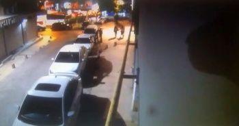 Sokak ortasında darp edilen kadına kimse yardım etmedi