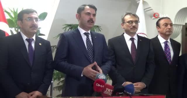 Bakan Kurum'dan 'imar denetimi' açıklaması