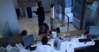 'Çocuğum hasta' diyerek bankayı soydu!