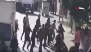 Ataşehir'de iki aile arasında kemerli, tekmeli yumruklu kavga