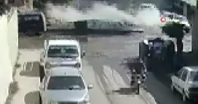 Azez'de PKK sivillere saldırdı
