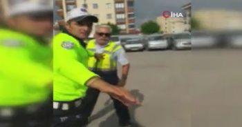 Çekici şoförüyle vatandaşın sopalı kavgası