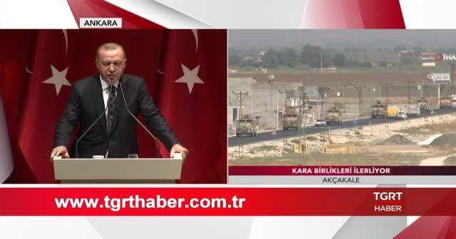 Cumhurbaşkanı Erdoğan, 'siviller vuruluyor' sözlerine sert tepki verdi