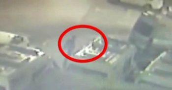 Fatih'te ambulansın çalınma anı kamerada