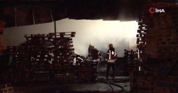 İşçiler ısınmak isterken yangın çıktı