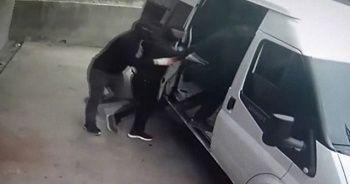 Maskeli hırsızların soygun girişimi kamerada