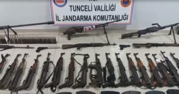PKK'ya darbe üstüne darbe! Teröristlere ait 8 sığınak imha edildi