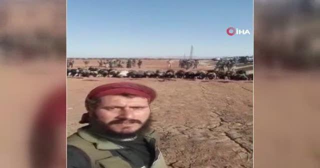 SMO askerleri, Münbiç sınırında namaz kıldı