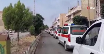 Teröristler Resülayn'dan ambulanslarla kaçıyor