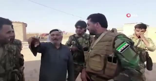 Resulayn'da yaşayan sivilden Suriye Milli Ordusu'na teşekkür