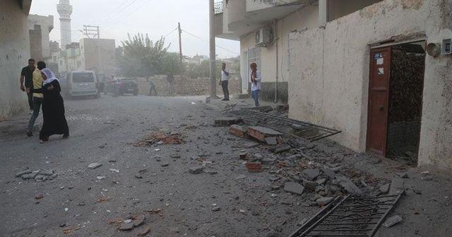 YPG/PKK'lı teröristlerin saldırı anının görüntüleri ortaya çıktı