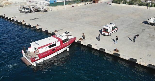 Adalar'da yaşayan vatandaşlar için deniz ambulansları 24 saat teyakkuzda bekliyor