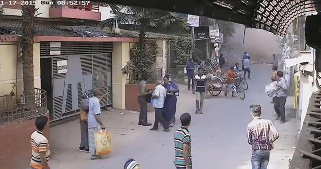 Bangladeş'teki patlama anının görüntüleri ortaya çıktı