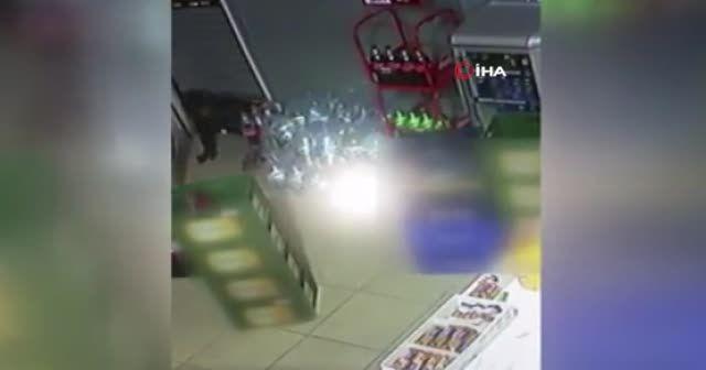 Başakşehir'de 'örümcek adam'a özenen hırsızlar kamerada