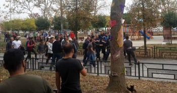 İBB zabıtaları esnafa biber gazı sıktı vatandaşlar da etkilendi