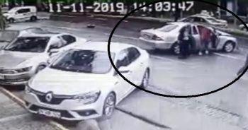 Şaşkın hırsızlar, kaza yapınca aracı bırakıp kaçtılar