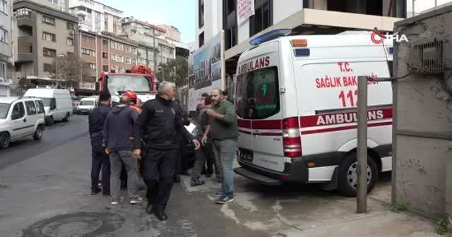 Şişli'de inşaat işçisi metrelerce yüksekten boşluğa düştü