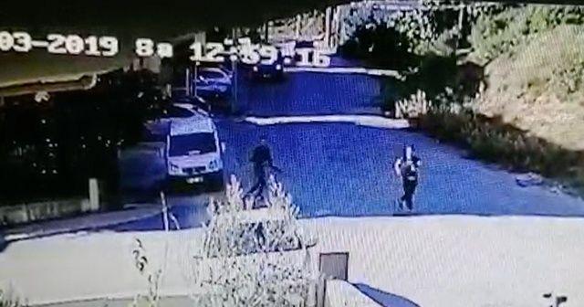 Antalya'da korkunç cinayetin görüntüleri ortaya çıktı