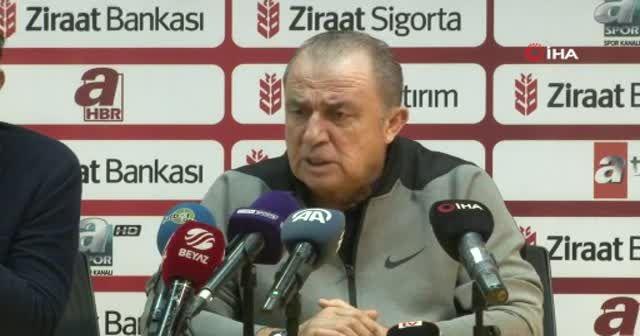 Fatih Terim: 'Sonuç almak isteyen bir Galatasaray vardı'