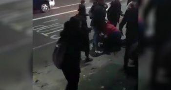 İngiltere'de Müslüman kız çocuğuna saldıran çift gözaltına alındı